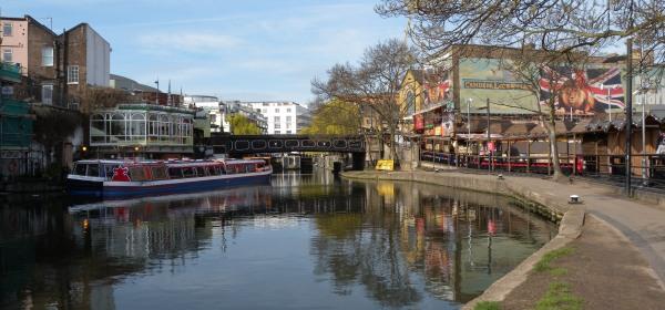 Camden Market view