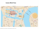 London Runs and Photo Routes -canary wharf map