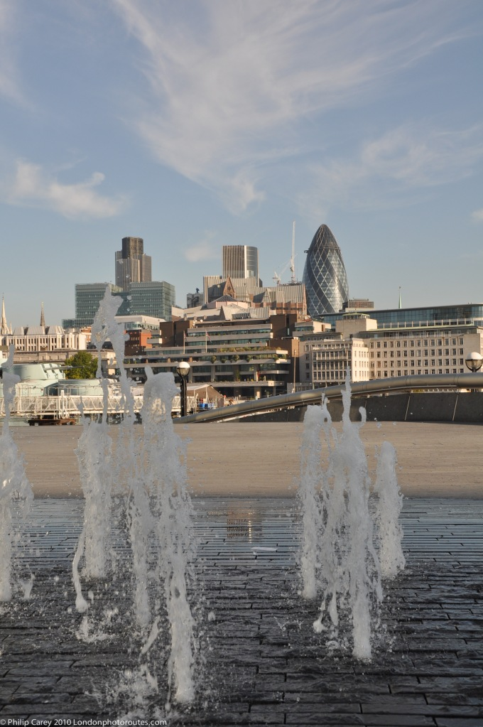 View to City of London from City Hall