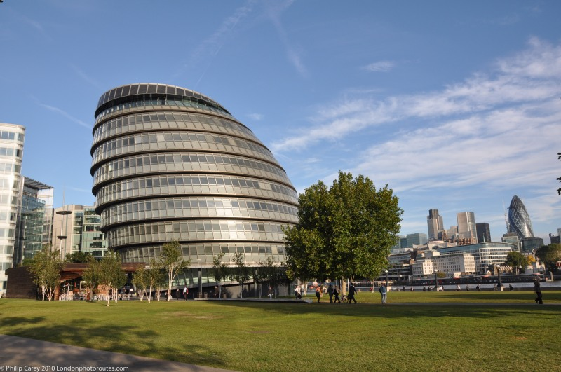City Hall from Potters Field