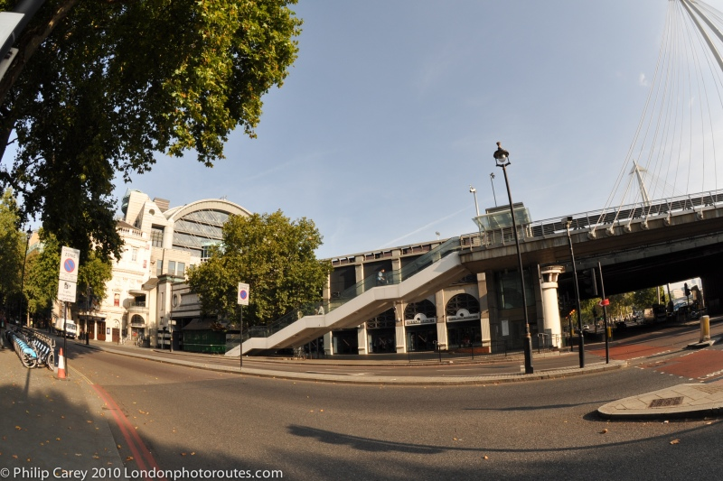 View from Northumberland Avenues