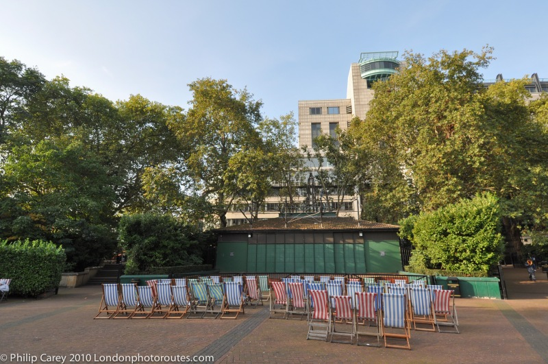 Bandstand - Victoria Embankment Gardens near by Embankment Station