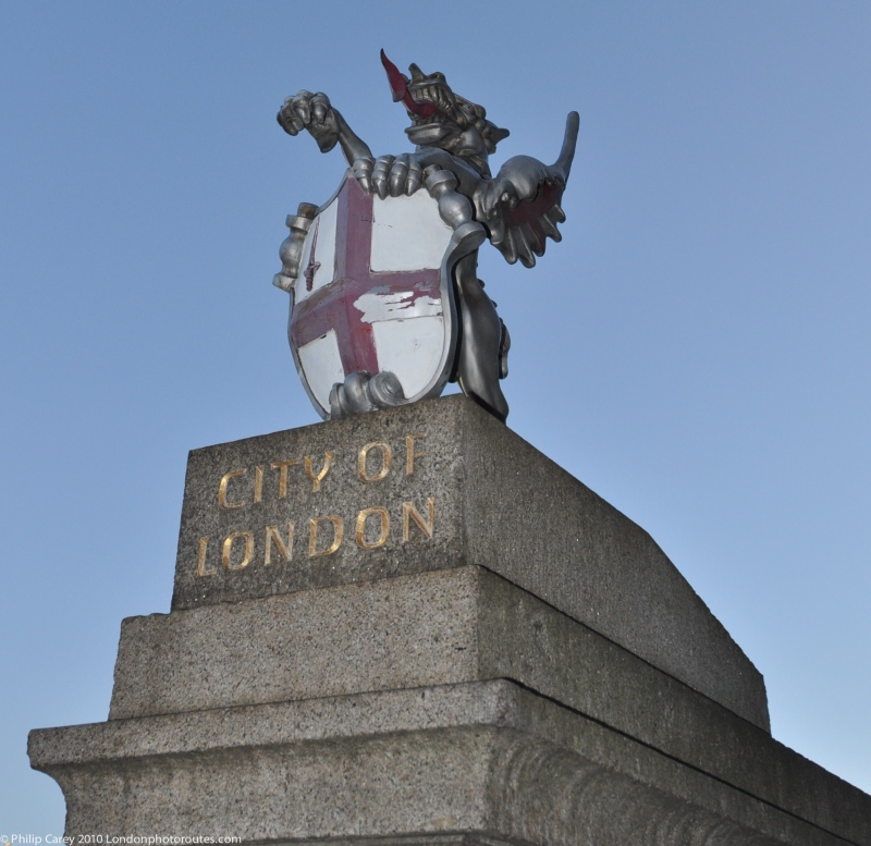 City of London Griffin at London Bridge