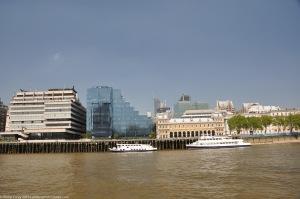View from Queens Walk between London Bridge and Hays Gallery