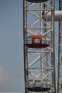 Detail view of London Eye Pod