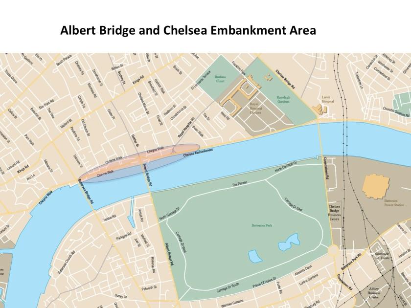 Map -Albert Bridge area
