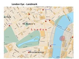 Map London Eye