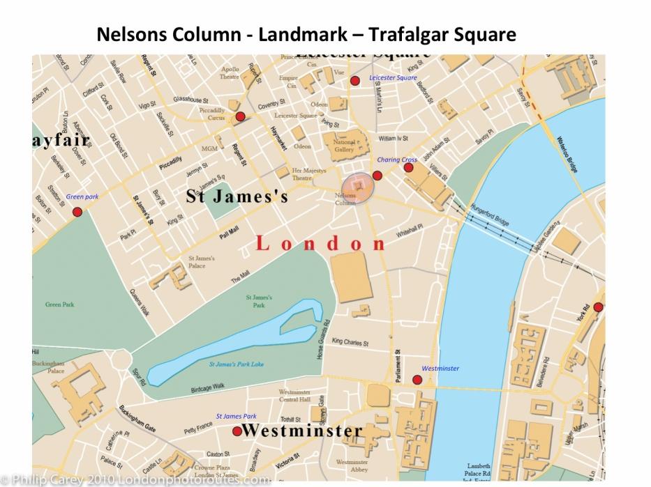 nelson column map