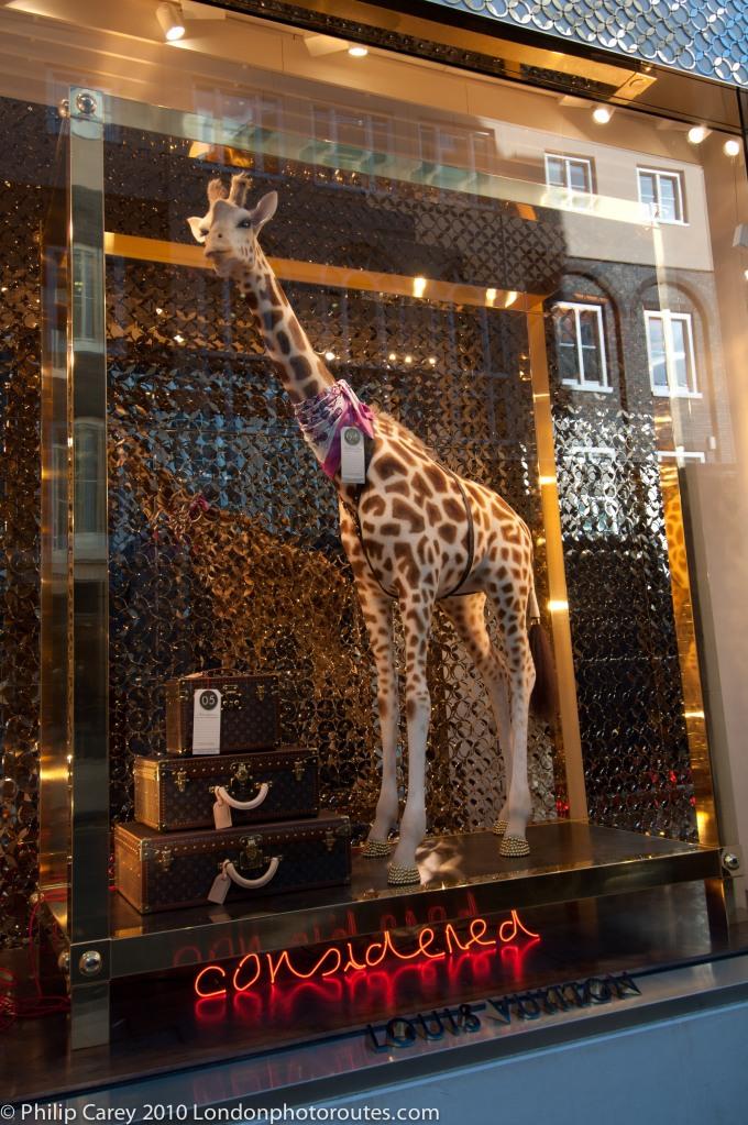 Bond Street Shop Window