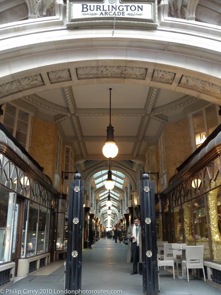 Burlington Arcade - Piccadilly Entrance