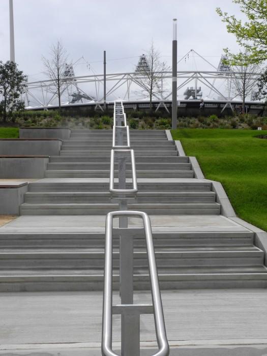 Stadium from stairs