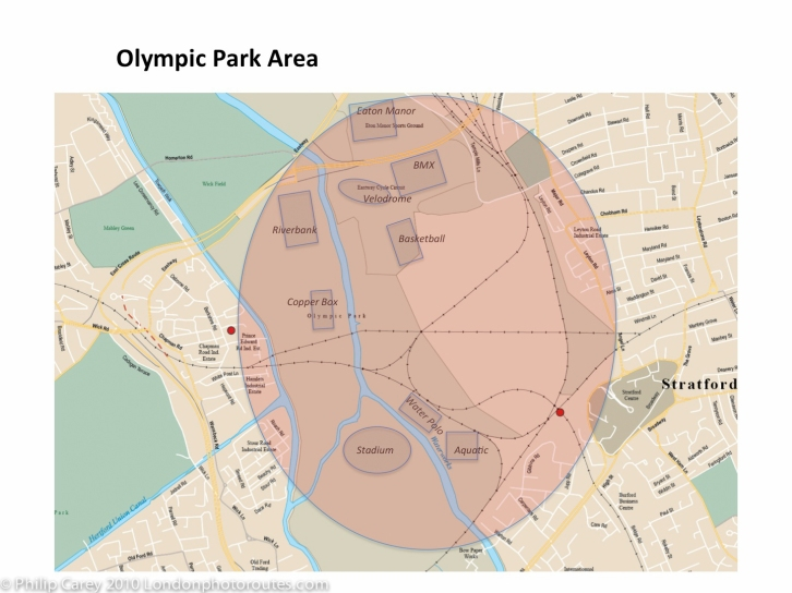 olympic park map