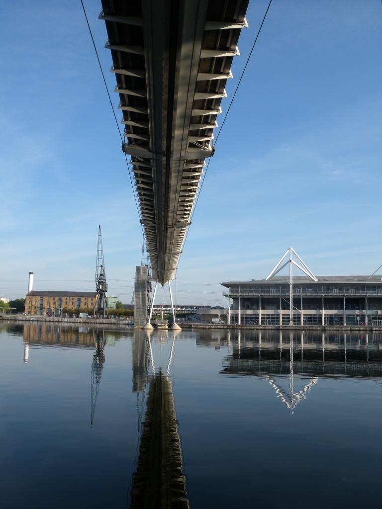 Bridge across Dock towards ExCel