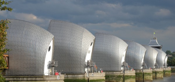 Thames Barrier -North Side