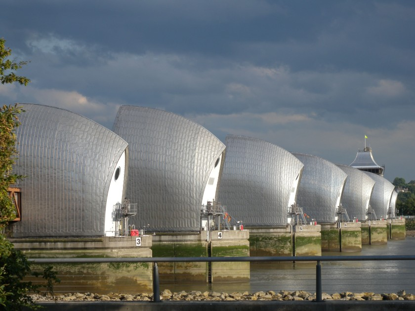 Thames Barrier -North Side