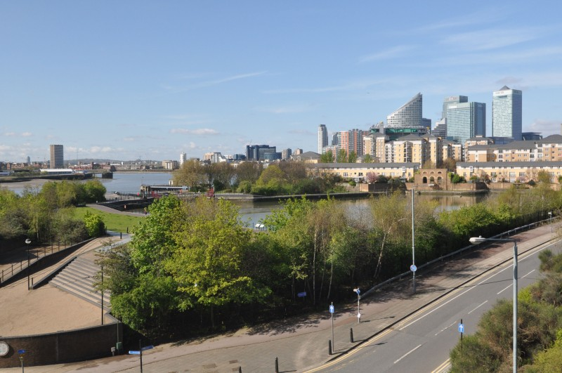 Docklands view from Lower Lee Crossing