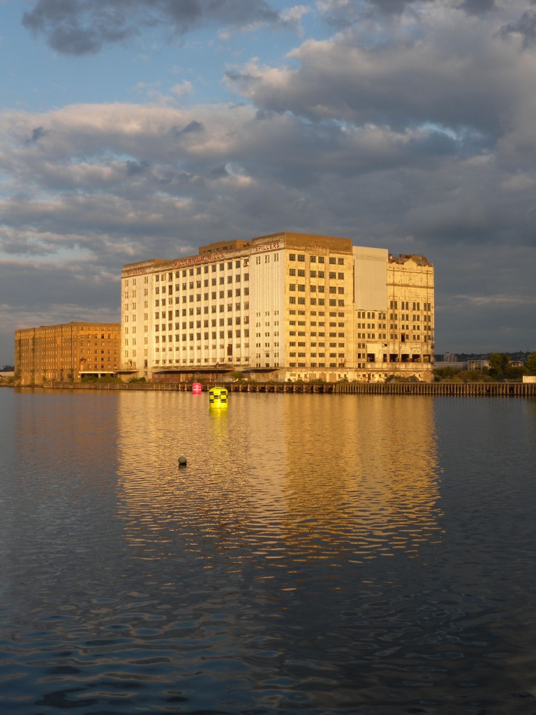 Millennium Mill - Evening view