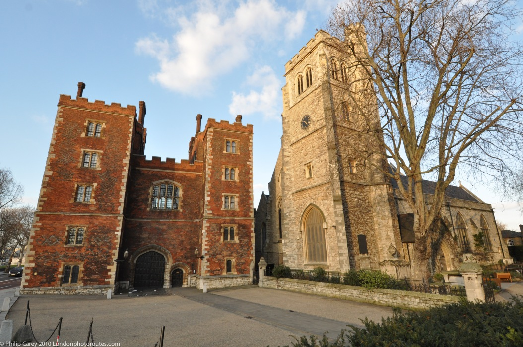Lambeth Palace Entrance