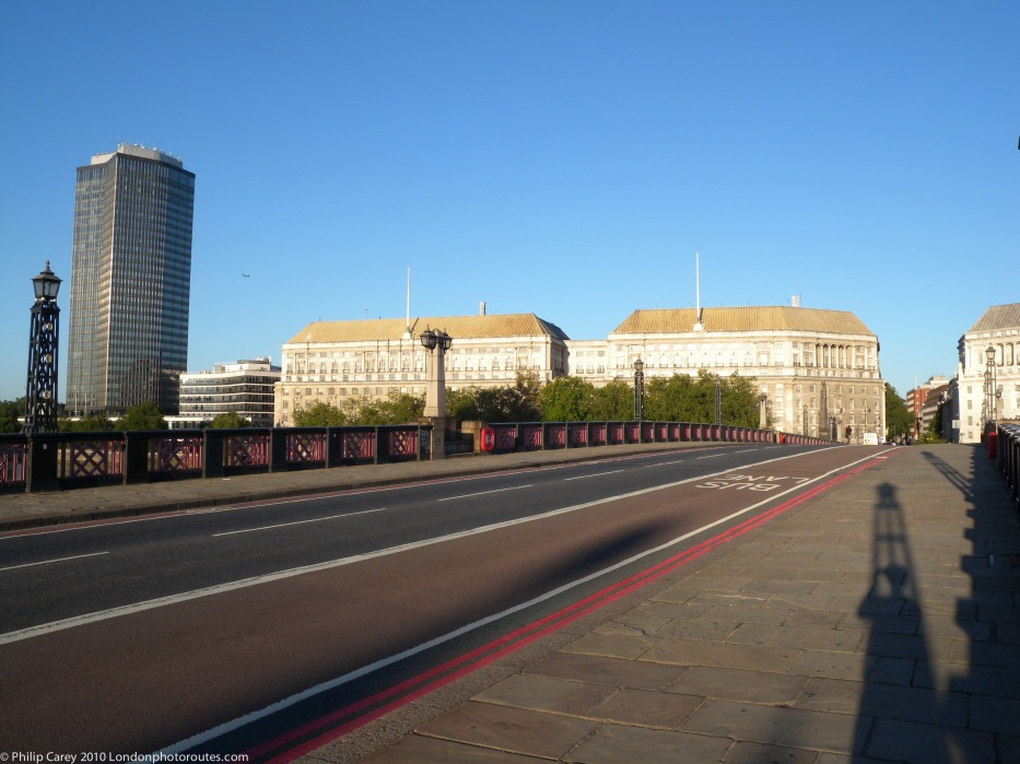 View across Lambeth Bridge