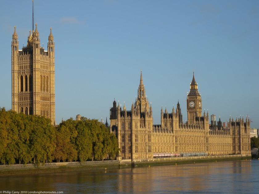 Houses of Parliament from Lambeth Bridge