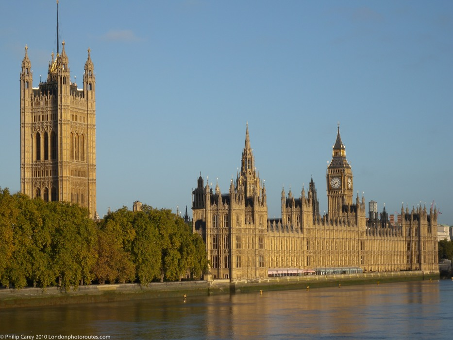 Houses of Parliament from Lambeth Bridge