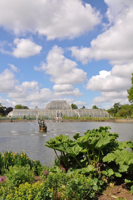 Cotton Wool Clouds over Kew -