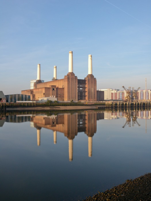 Still Morning - Battersea Power Station