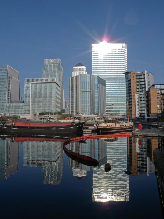 Still sunny morning - Canary Wharf
