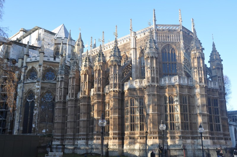 Rear of Westminster Abbey -Day