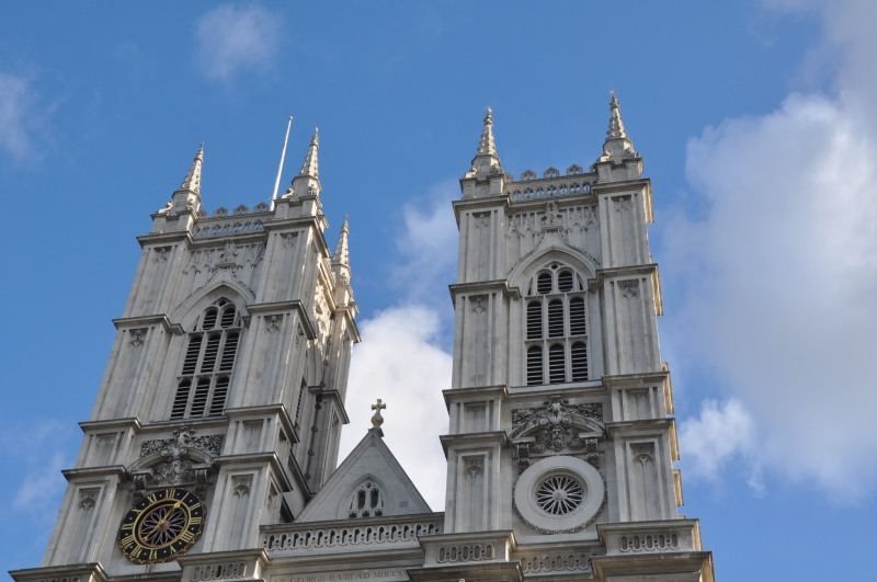 Westminster Abbey roof Detail
