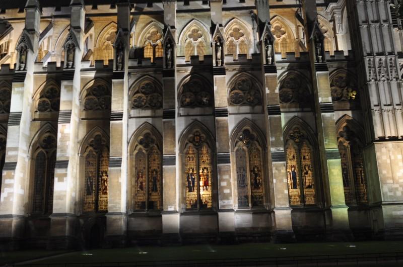 Night View - Stain Glass windows