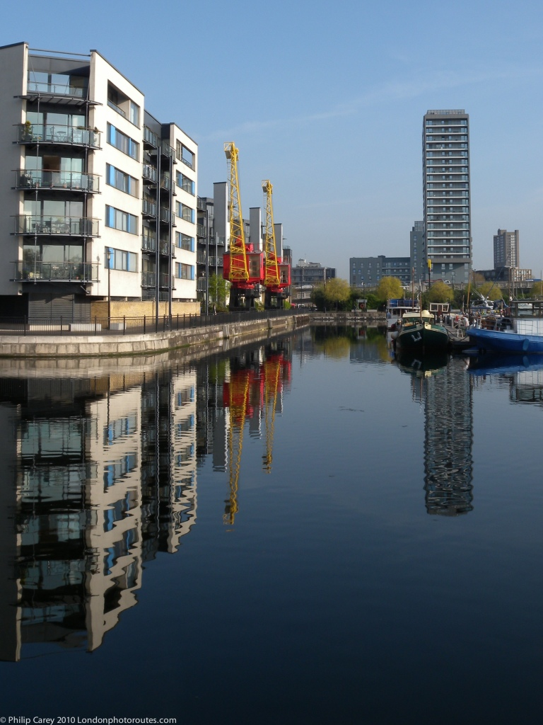 Poplar Dock from Langdon's Close