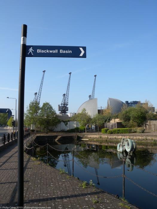 Lovegrove Walk - Blackwell Basin entrance.