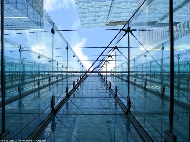 Glass Building Detail – Canary Wharf