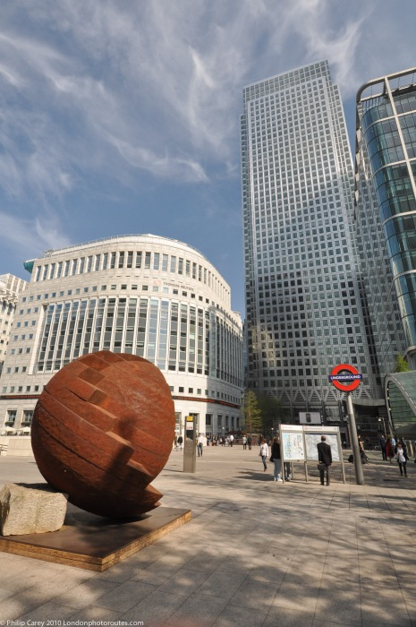 Art on the Street – (old exhibition) Canary Wharf near Reuters Plaza