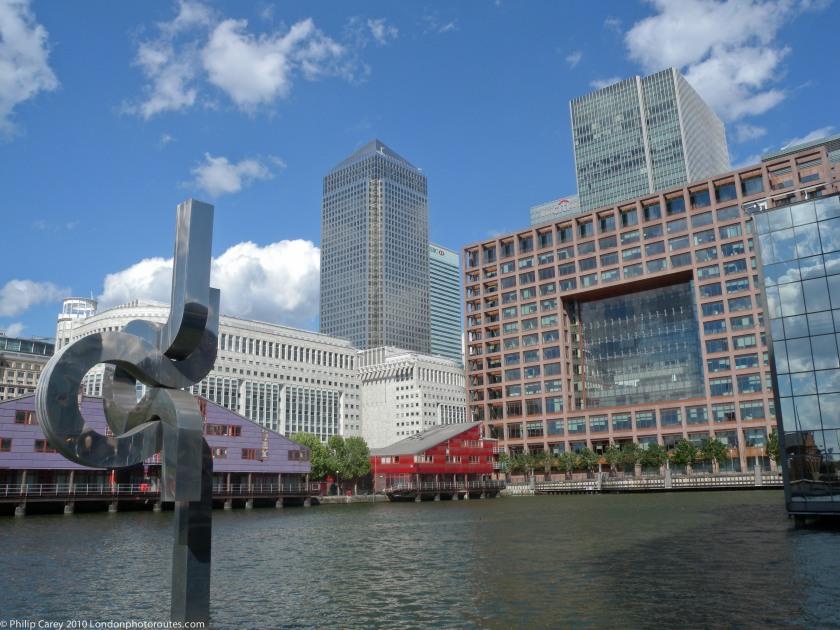 Financial Center from Marsh Wall