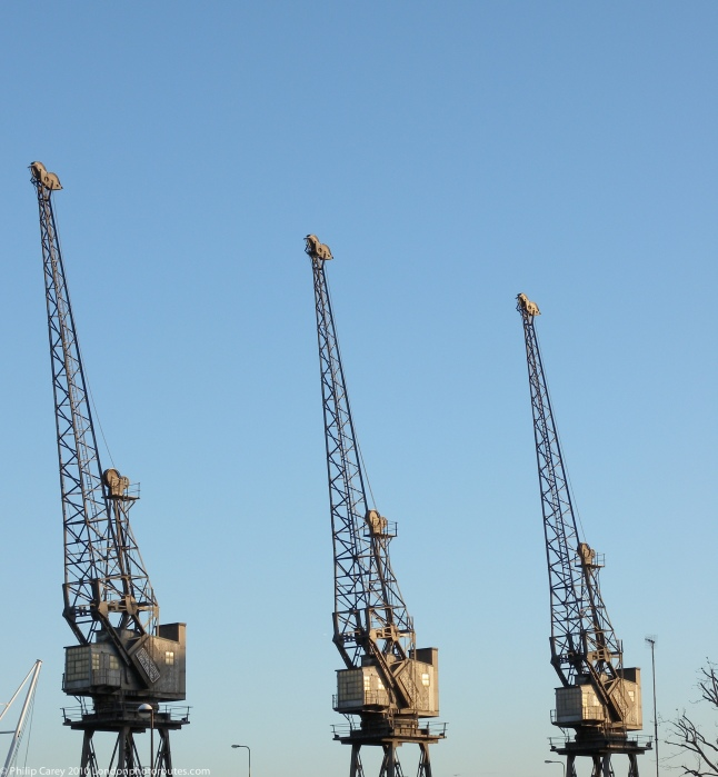 3 Cranes - Drawbridge - South Dock entrance