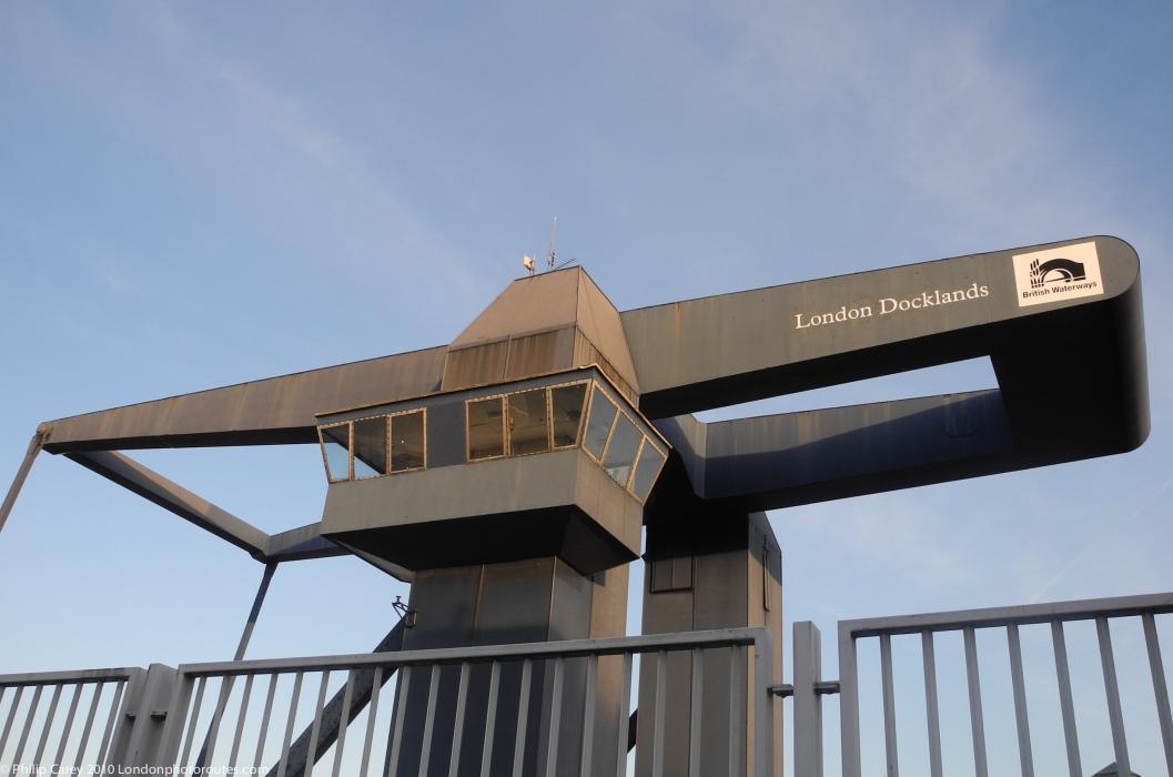 Drawbridge - South Dock entrance