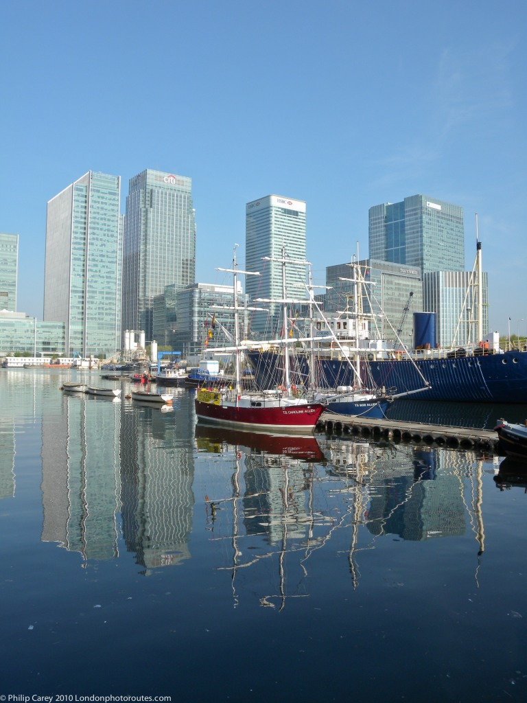 South Dock - Financial district and boats view 2