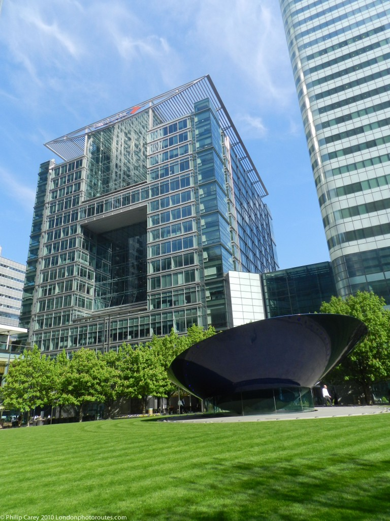 View from Canada Square