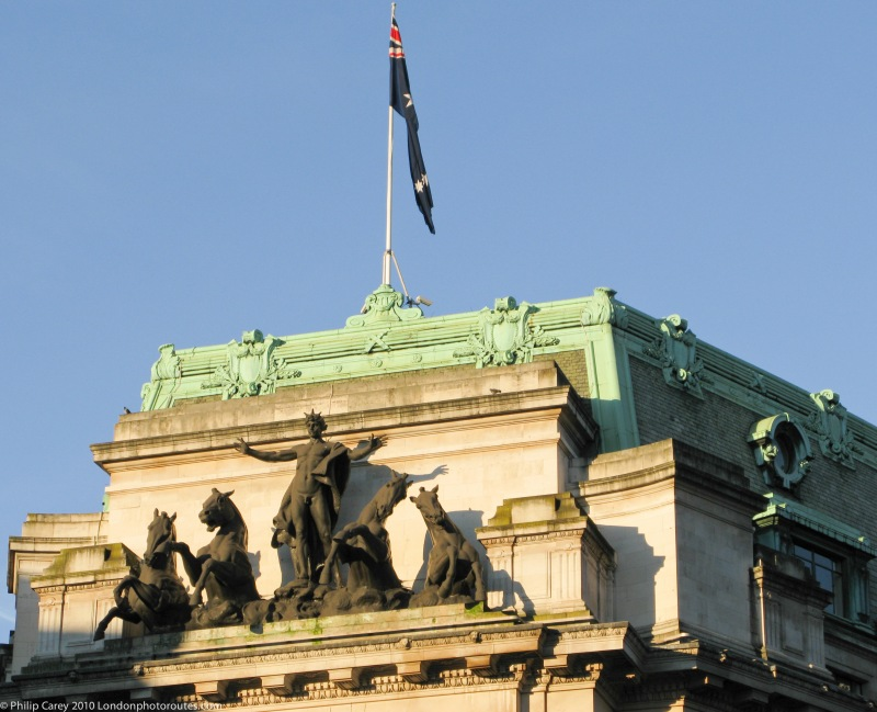Top of Australia House - Aldwych