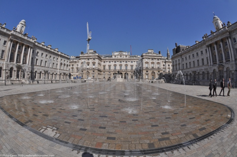 Water Fountain in Somerset House