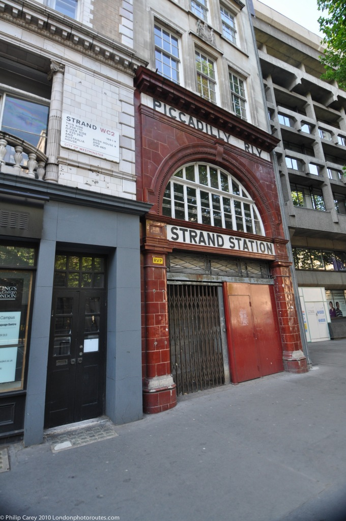 The Old Stand (Aldwych) Station