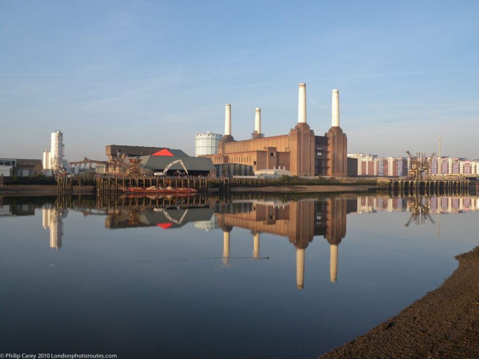 Battersea Power Station wide view