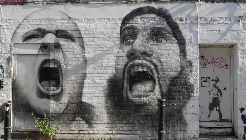 Wall Art - Hanbury Street - off Brick lane
