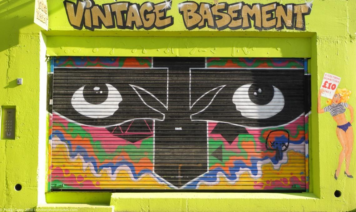 Vintage Basement - off Brick Lane