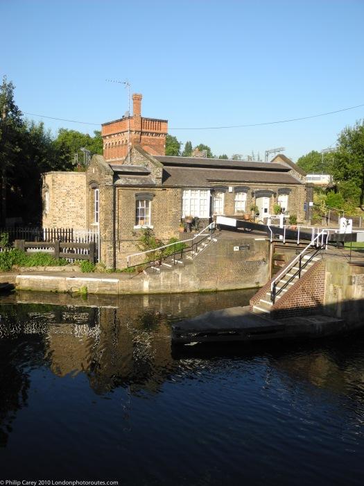 St Pancras Basin Lock