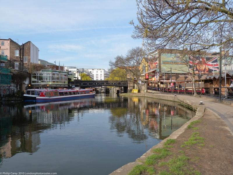 Regents Canal --by Camden Market