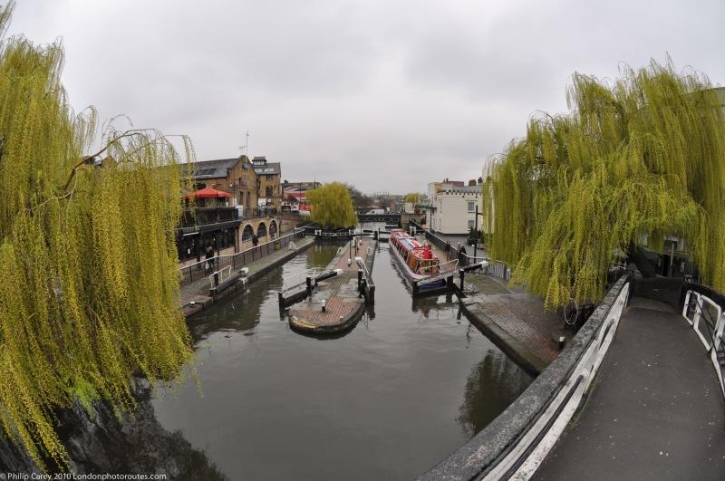 Regents Canal --by Camden Lock