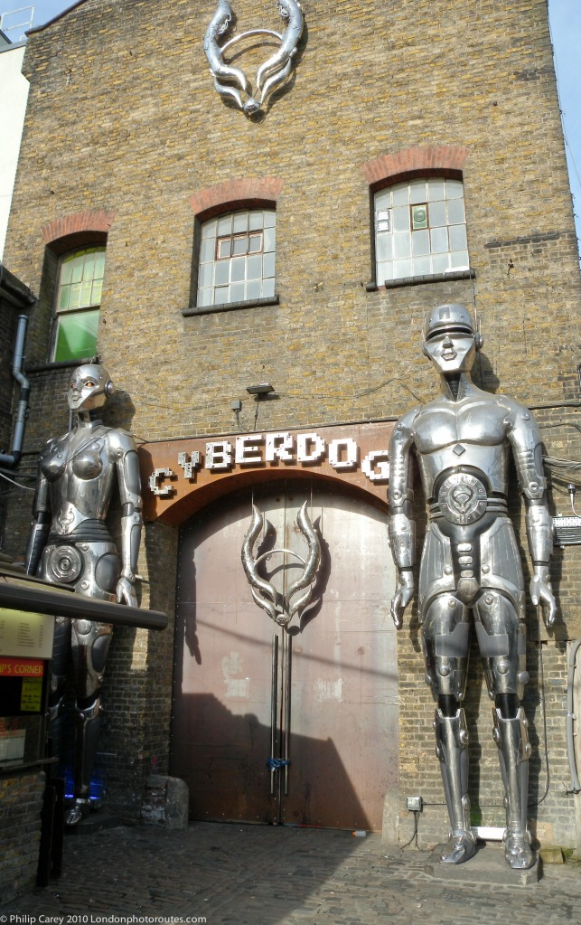 Cyberdog Shop Front - The Stables Market - south